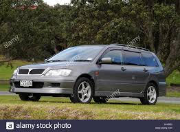 black mitsubishi lancer mitsubishi lancer estate stock photo royalty free image 5792818