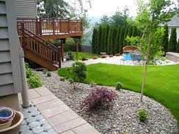 Landscape Ideas For Backyard by Inexpensive Backyard Landscaping Ideas Moncler Factory Outlets Com