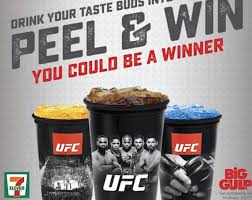 ufc minute ufc and 7 eleven partner to give fans prizes ufc