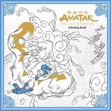 avatar airbender coloring book coming dark