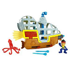 jake land pirates hook u0027s jolly roger mattel