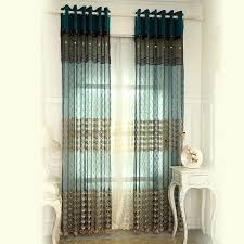 Sheer Burgundy Curtains Teal And Brown Curtains Teal Colored Window Treatments Teal