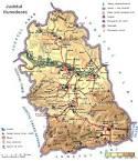 Judetul Hunedoara - Harta Romaniei