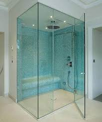 Glass Shower Doors Frameless Frameless Clear Glass Shower Door Bathroom Glass Shower Doors