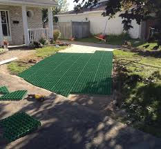 grass surfaced permeable parking foundation systems u2013 core landscape