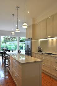 Galley Kitchens With Island - galley kitchen with island bench modern galley kitchen design