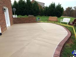 Flagstone Patio Cost Per Square Foot by Patio Ideas Stained Concrete Patio Cost Per Square Foot Stained