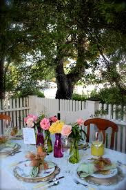 Garden Table Decor What Makes This The Perfect Garden Party Salad Taste With The Eyes