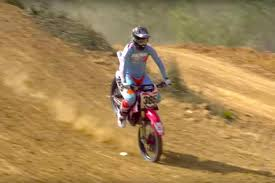 motocross freestyle brett cue u0027s nose wheelie motocross landing video