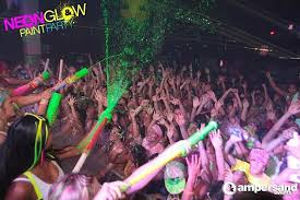 glow paint party hot 107 9 is throwing a neon glow paint party for your back