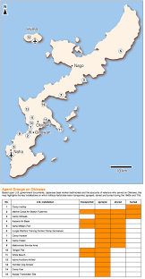 Map Of Okinawa As Evidence Of Agent Orange In Okinawa Stacks Up U S Sticks With