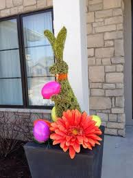 Easter Door Decorations Pinterest by The 25 Best Outdoor Easter Decorations Ideas On Pinterest Happy