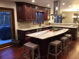 perfect family kitchen with island and bartop u2013 lux design and