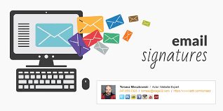 free actor email signature generator