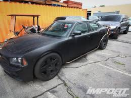 dodge charger from fast 5 the cars of fast five import tuner magazine
