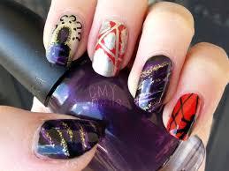 pretty little liars nail art u2013 cmy nails