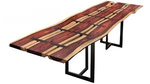 Slab Dining Table by Cocobolo Trio Live Edge Slab Dining Table Replacement Items