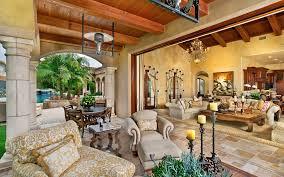 luxury ranch santa fe home living room hd wallpaper