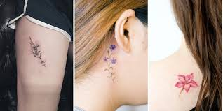 Small Flower Tatoos 40 And Tiny Floral Tattoos For Tattooblend