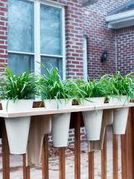 window planters indoor adjustable railing brackets planters diy horizontal deck fewer