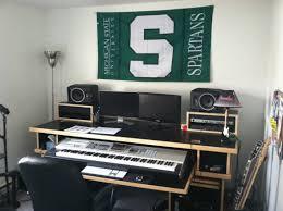Studio Recording Desks by Bedroom Furniture Apartment Layout Luxury Master Modern Black Sets