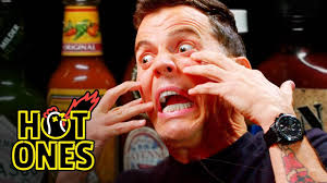 videos s nine highly badass steve o tells insane stories while eating spicy wings ones