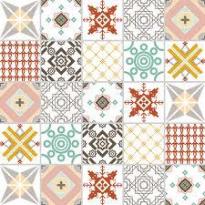 amazon com tin peel u0026 stick raised floral pattern backsplash tile transfers ebay