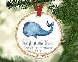 Personalized Christmas Ornaments Baby Baby U0027s First Christmas Ornament Etsy