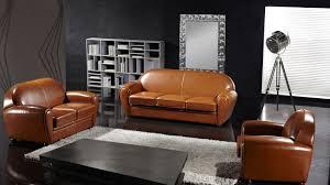 ensemble canap 3 2 1 canape salon ensemble style cuir bycast design mobilier moss