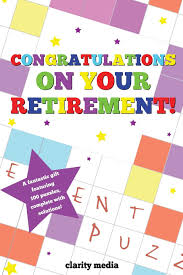 congratulations on your retirement puzzle book amazon co uk