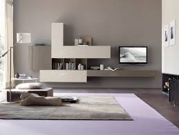 adorable wall units for living room using modern floating media