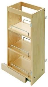 6 inch spice rack cabinet rev a shelf 432 tf45 6c 432 series 6 inch wide by 45 inch tall