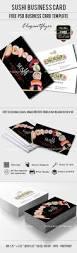 sushi u2013 free business card psd template u2013 by elegantflyer