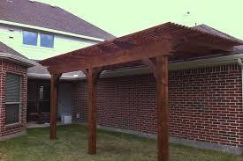 Backyard Arbor Frisco Texas Small Backyard Arbor Creates New Shade Area Hundt