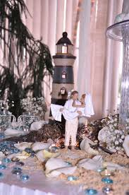 Bride And Groom Table Decoration Ideas Sandy Beach Bride U0026 Groom Cake Topper Kims Bridal And Gifts
