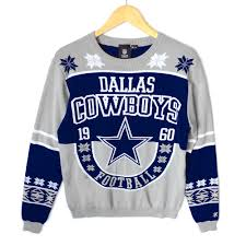 cowboys sweater dallas cowboys tacky sweater the sweater shop
