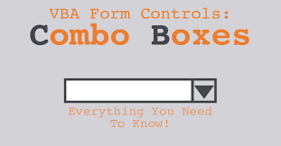 vba for excel u0027s form control combo boxes u2014 the spreadsheet guru