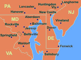 map of maryland delaware and new jersey cmp sprinkler system design installation in delaware
