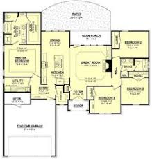 2000 sq ft ranch house plans 2500 sq ft one level 4 bedroom house plans house plan four