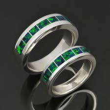 Opal Wedding Ring Sets by Wedding Rings Hileman Jewelry Blog Dinosaur Bone Turquoise