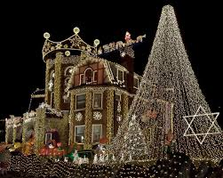 Homes Decorated For Christmas Top 10 Biggest Outdoor Christmas Lights House Decorations Digsdigs