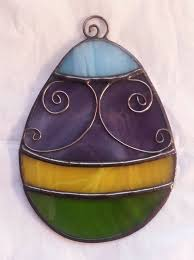 glass easter egg ornaments 1634 best stained glass images on glass stained glass