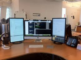 Compact Computer Desk For Imac 126 Best Imac Workspace Images On Pinterest Office Spaces