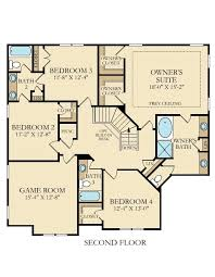 bradford floor plan bradford new home plan in austin creek traditional by lennar
