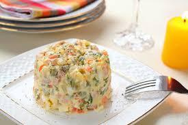 olivier cuisine salad olivier stock image image of food kitchen nutrition 22127711