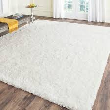 Safavieh Leather Shag Rug Manificent Design White Fluffy Carpet Amazing Plush Area Rugs