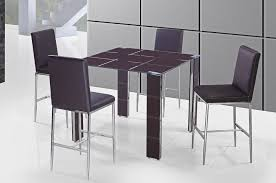 Pub Table Set Modern Square Pub Table Set