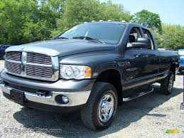 2004 dodge ram 2500 slt quad cab 4x4 in graphite metallic 137159