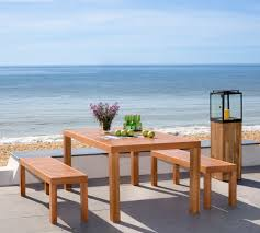 Outdoor Dining Bench Pat7029a Outdoor Dining Tables Furniture By Safavieh