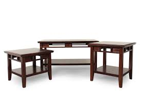 Mathis Brothers Desks by Three Piece Contemporary Coffee Table Set In Dark Brown Mathis
